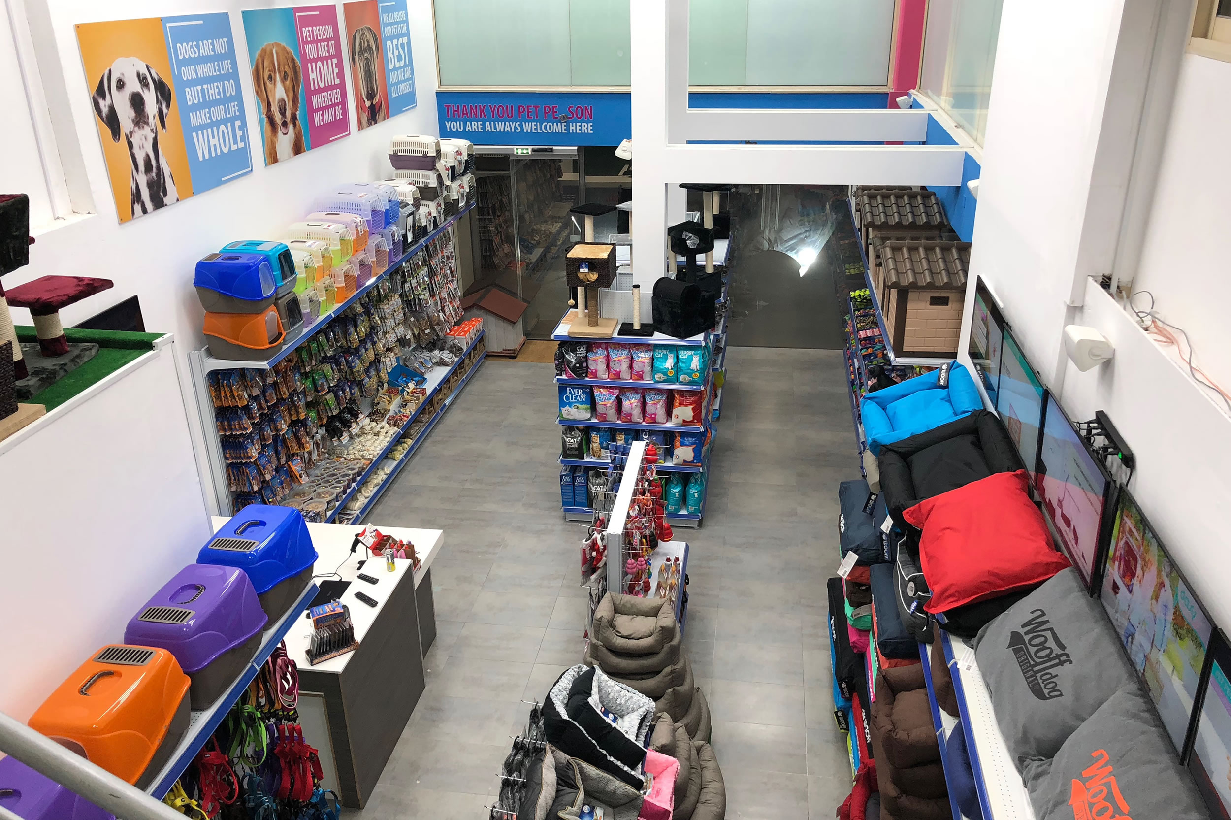 Pet People - Information on our Pet Stores in Limassol and Nicosia
